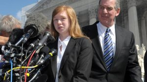 Clearly, Abigail Fisher deals wonderfully with rejection