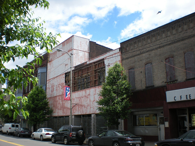 Scenic downtown Steubenville
