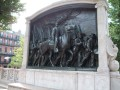 The Robert Gould Shaw Memorial in Boston Common
