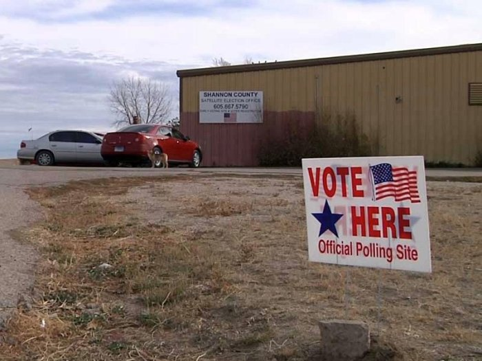 Shannon County Vote
