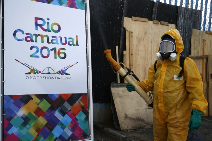 DISINFECTION CAMPAIGN TO FIGHT AGAINST ZIKA VIRUS AHEAD OF RIO CARNIVAL
