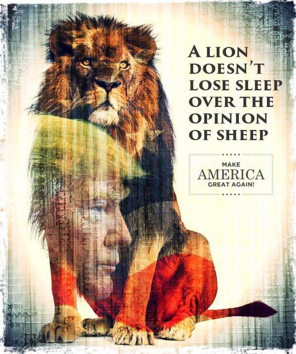 trump-lion-4-poster